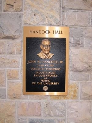 Hancock Hall image. Click for full size.