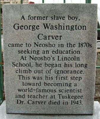George Washington Carver Marker image. Click for full size.