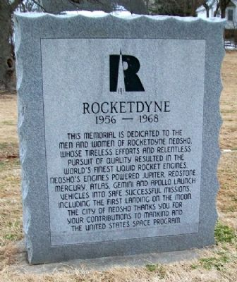 Rocketdyne Marker image. Click for full size.