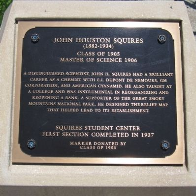 John Houston Squires Marker image. Click for full size.