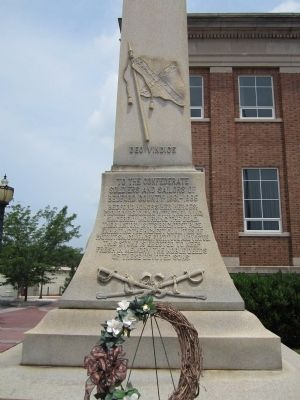 Bedford County Confederate Monument image. Click for full size.