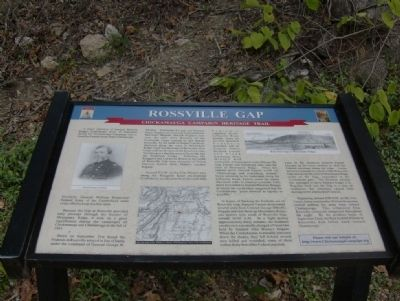 Rossville Gap Marker image. Click for full size.