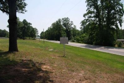 Dials Methodist Church Marker -<br>Reverse Looking East Along SC 101 image. Click for full size.