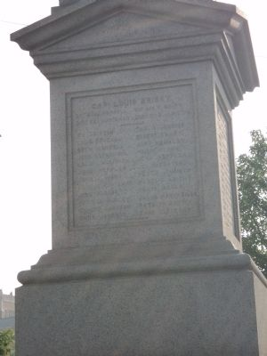 Flushing Civil War Monument (Side 3) image. Click for full size.