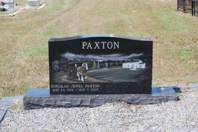 Douglas Jewel Paxton Tombstone<br>May 24, 1934 - May 9, 2005 image. Click for full size.