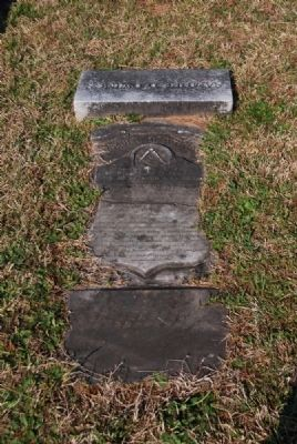 Samuel D. Owings Tombstone image. Click for full size.
