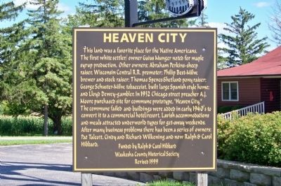 Heaven City Marker image. Click for full size.