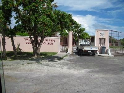 Turks & Caicos Islands Community College, Grand Turk Campus Entance image. Click for full size.