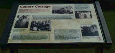 Canary Cottage Marker image. Click for full size.