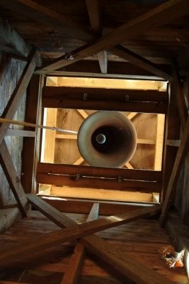 Inside the bell tower image. Click for full size.