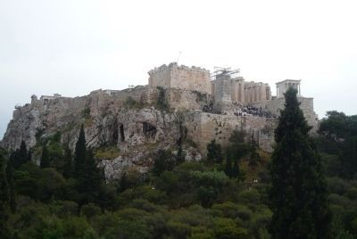 The Acropolis of Athens viewed from Parko Thiseio image. Click for full size.