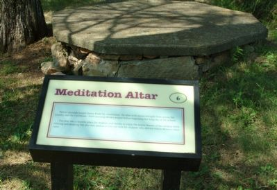 Meditation Altar Marker image. Click for full size.