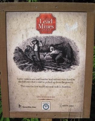 Lead Mining Info Sign image. Click for full size.