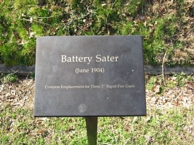 Battery Sater Sign image. Click for full size.