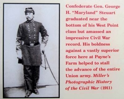 "Confederate Gen. George H. ""Maryland"" Steuart image. Click for full size."