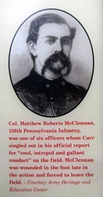 Union Col. Matthew Roberts McClennan image. Click for full size.