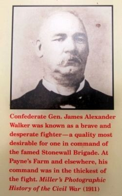 Confederate Gen. James Alexander Walker image. Click for full size.