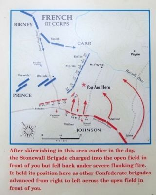 Position of the Stonewall Brigade image. Click for full size.