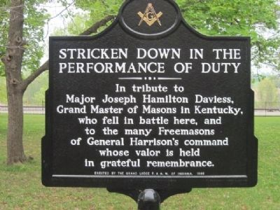 Tribute Marker located at site image. Click for full size.