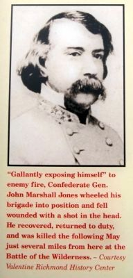Confederate Gen. John Marshall Jones image. Click for full size.
