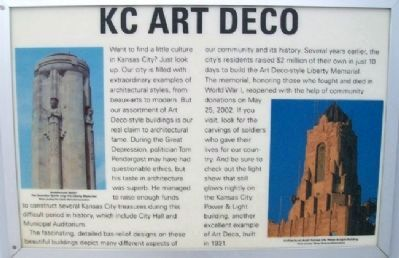 KC Art Deco Marker image. Click for full size.