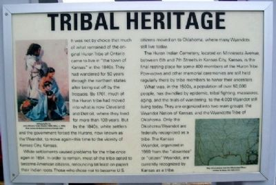 Tribal Heritage Marker image. Click for full size.