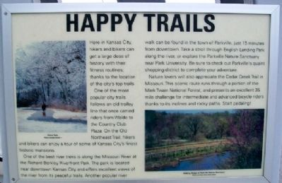 Happy Trails Marker image. Click for full size.
