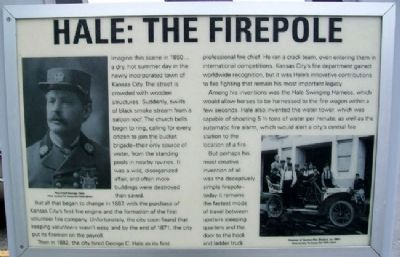 Hale: The Firepole Marker image. Click for full size.