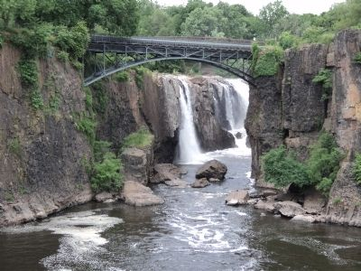 Great Falls of the Passaic image. Click for full size.