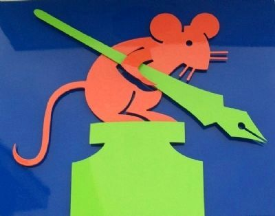 Mouse Tale Marker Artwork image. Click for full size.