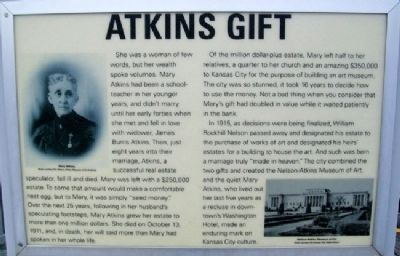Atkins Gift Marker image. Click for full size.