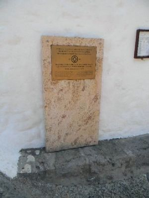 Historic Centre (Chorá) World Heritage Site Marker image. Click for full size.