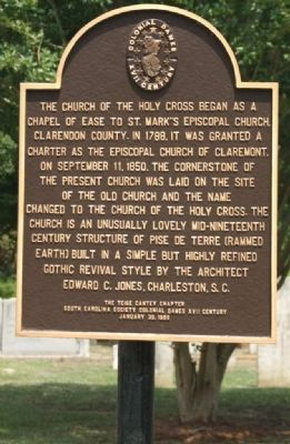 Church of the Holy Cross Marker image. Click for full size.