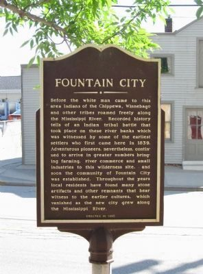 Fountain City Marker image. Click for full size.