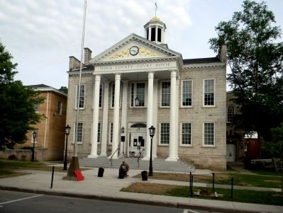 Tioga County Court House (1835) image. Click for full size.