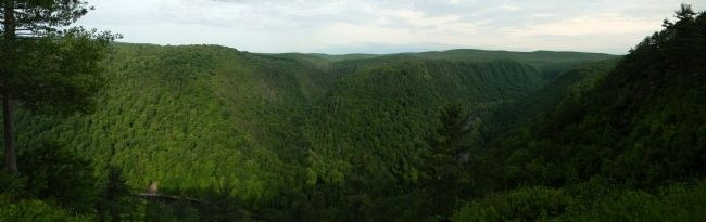 Grand Canyon of Pennsylvania image. Click for full size.