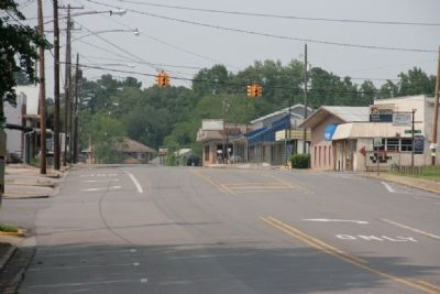 Main Street Graysville, Alabama image. Click for full size.