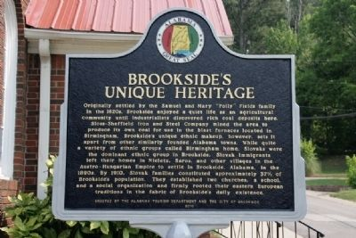 Brookside's Unique Heritage / Brookside Russian Orthodox Church Marker (Side A) image. Click for full size.