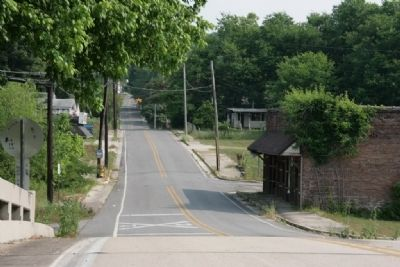 Main Street of old Brookside. image. Click for full size.