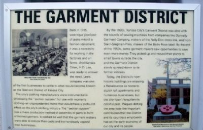 The Garment District Marker image. Click for full size.