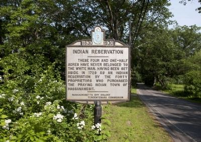 Indian Reservation Marker image. Click for full size.