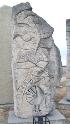 Prairie Passages Lyon Echo Carving image. Click for full size.