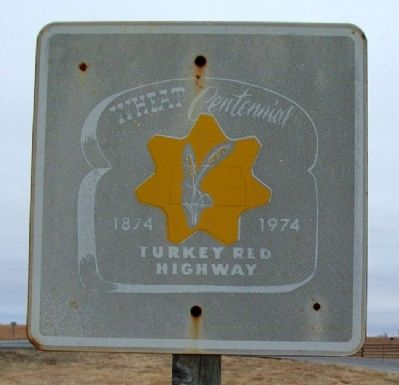 Turkey Red Wheat Centennial Sign image. Click for full size.