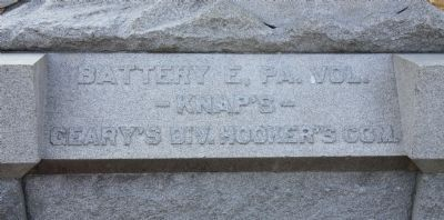 Battery E, PA, Vol. Marker image. Click for full size.