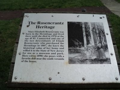 The Rosencrantz Heritage Marker image. Click for full size.