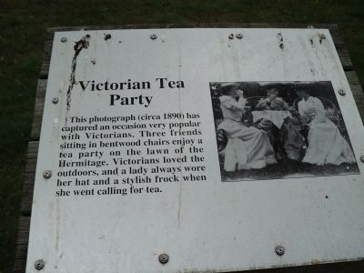 Victorian Tea Party Marker image. Click for full size.