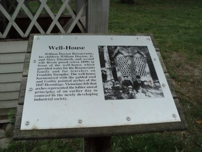 Well-House Marker image. Click for full size.