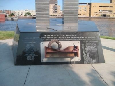 September 11, 2001 Memorial image. Click for full size.