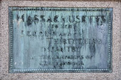 Massachusetts Marker image. Click for full size.