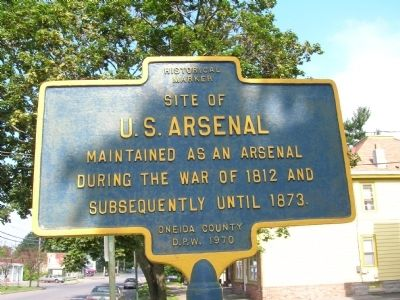 U.S. Arsenal Marker image. Click for full size.